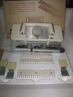 Singer 560-Lc Electronic Knitting Machine Lace Carriage For 4.5 Needle Gauge
