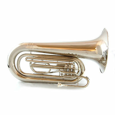 Schiller Field Series  Marching Tuba Nickel Plated
