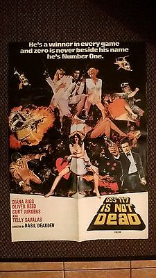 Oss 117 Is Not Dead 1958  - Original Asian Cinema Poster. With Diana Rigg.