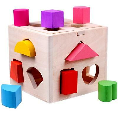 Educational Puzzle Box Toy for Baby/Kids - Wooden - Early Learning - Baby Gift