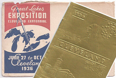 1936 Cleveland Great Lakes Exposition Little Golden Book with Envelope Cover