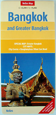 NEW 2006~MAP OF BANGKOK, Nelles~w/Detail Maps of City Center & Greater Bangkok