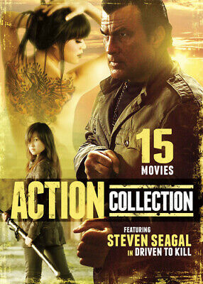 15 Action Movies Featuring Steven Seagal in Driven [New DVD] Full Frame, Slim