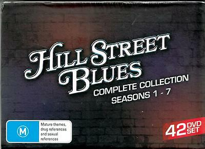 Hill Street Blues Complete Collection Seasons 1 - 7 - R4 Dvds - Free Local Post