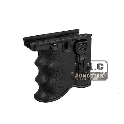 Tactical MG-20 2 in 1 QD Foregrip Front Grip 5.56 .223 Magazine Holder Carrier