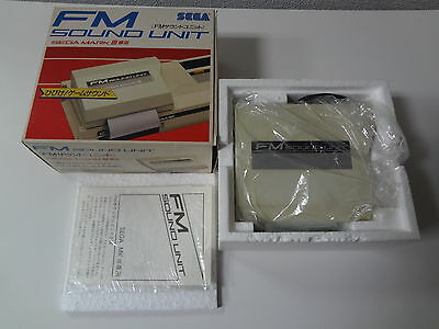 Sega Mark III Fm Sound Unit System Sega Japan VGOOD
