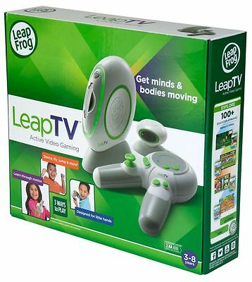 NEW LeapFrog LeapTV Learning Educational Active Video Game Leap TV Frog