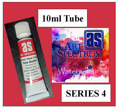 ART SPECTRUM FINEST ARTIST  ROSE MADDER WATERCOLOUR 10ml TUBE SERIES 4