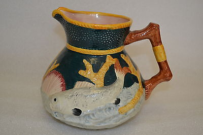 Shorter England  Large Fish & Seashell  Jug