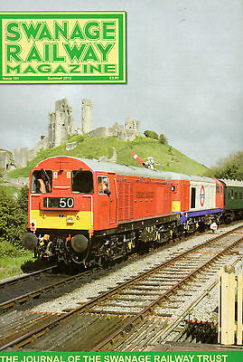 """Swanage Railway Magazine(features Class 55-""""Deltic"""" Royal Highland Fusilier)"""
