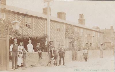 Rp Pangbourne The Star Pub People Outside Adams Real Photo Posted 1906