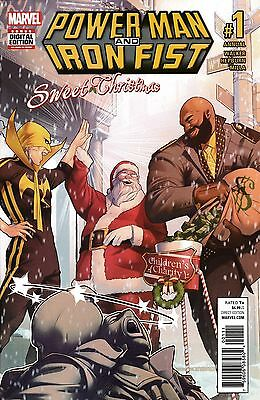 POWER MAN AND IRON FIST: SWEET CHRISTMAS ANNUAL #1 - NM - Marvel Comics