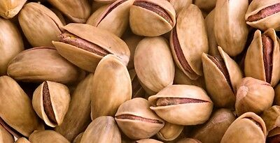 Pistachios Roasted and Salted 1 kg Bag, (2,20 lbs) InShell Naturally Opened,Nuts