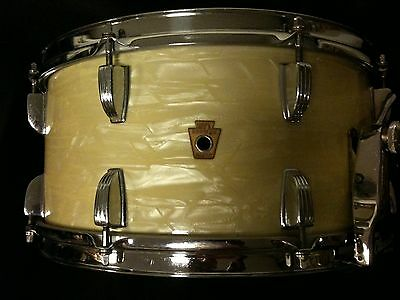 WFL 14 x 7 New Classic Snare in WMP ca. späte 40er Jahre (Ludwig)