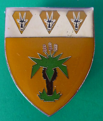South West Africa Sector 40 Border War  Army Gemsbok Aloe Plant Breast Badge
