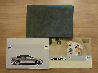 Volvo S40 Owners Handbook/Manual and Wallet 04-08