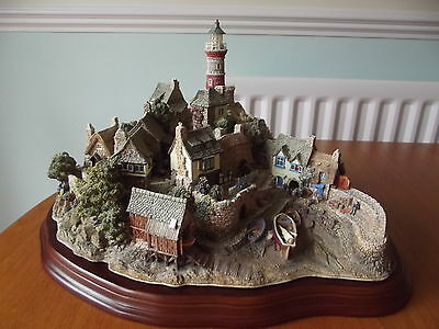 Lilliput Lane Cottage Out Of The Storm Limited Edition W/coa Collection Only