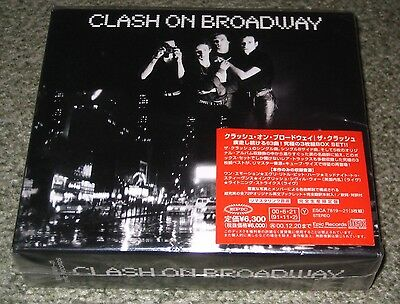 THE CLASH Japan PROMO 3 x CD box set SEALED cover sticker PUNK limited edition