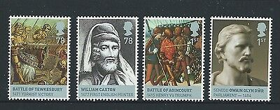 Great Britain 2008 Lancaster And York Set Of 4 Ex Miniature Sheet Unmounted Mint