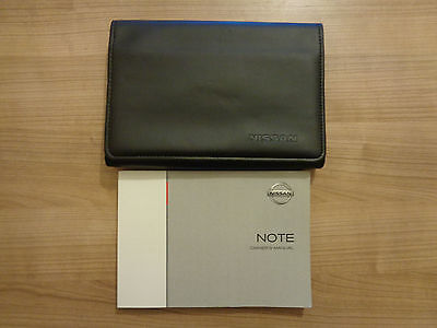 Nissan Note Owners Handbook/Manual and Wallet 05-11
