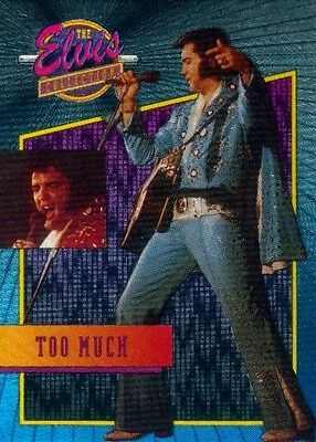 23 Too Much Dufex Elvis Card Of His Life River Group Foil Chase