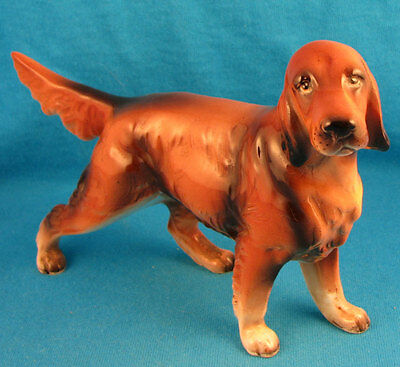 Vintage Irish setter hunting dog FREE SHIPPING Excellent!