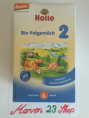 Holle Organic Infant Baby Formula Stage 2 ( 10 boxes) Fresh from Germany