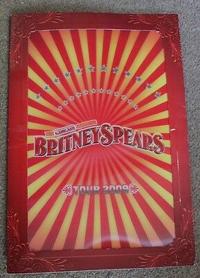 Britney Spears The Circus Hologram Tour Programme 2009
