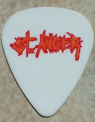 AUTHENTIC ~ METALLICA Guitar Pick ~ 2004 Madly In Anger with the World Tour