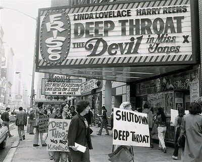DEEP THROAT theatre MARQUEE photo from 70s (sfp3)
