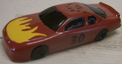 RARE HTF 2005 Jim Beam District 6 #30 Red Stock Car Decanter #13 of only 60 made