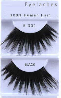 #301 Long Spikey Black False Showgirl Eyelashes/costume/longest Lash/drag Queen