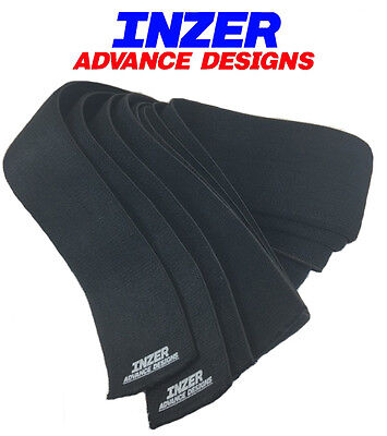 Inzer True Black Knee Wraps 2.0 Meters - Lots of Support and Spring Effect