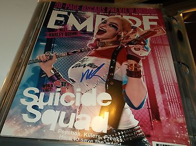 Suicide Squad Margot Robbie (Harley Quinn) Empire Cover Art Autographed Photo