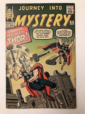 JOURNEY INTO MYSTERY #95 // THOR Vs THOR // VG