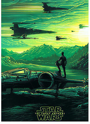 Star Wars the Force Awakens Imax poster No#2~ATTACK-AMC Exclusive GOOD!COLLECTIB