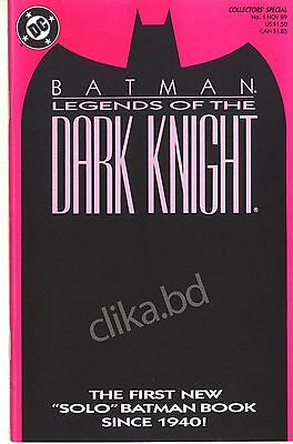 BATMAN LEGEND of the DARK KNIGHT1 to 5-1990-DC- H.G 9.2 &UP/ SHAMAN FULL SET 1-5