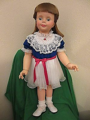 """36 inch G-35 Ideal Auburn Hair """"Babyface"""" Patti Playpal Doll in Vintage Outfit"""