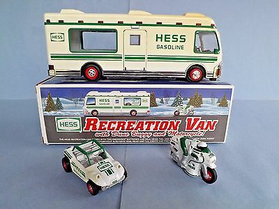 "3/lot, New=""hess-Recreation Van, Dune Buggy+Motor Cycle""head,tail+Running Lights"
