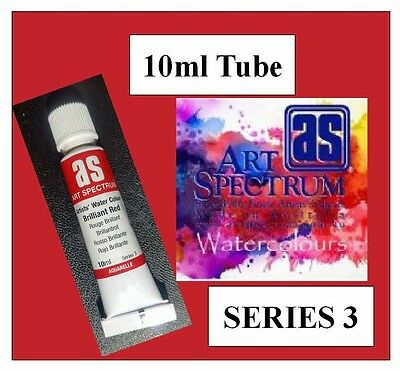 ART SPECTRUM ARTIST  BRILLIANT RED WATERCOLOUR 10ml TUBE SERIES 3 DUCKPOND