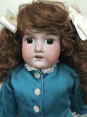 """Antique Doll Armand Marseilles 370 bisque on a kid body 23"""""""