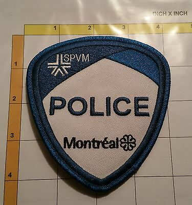Canada Quebec Montreal Police SPVM Service Dept Obsolete Patch