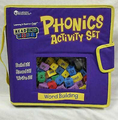 Reading Rods Phonics Activity Set, Word Building, Learning Resources, Teach 6+