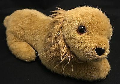 "9"" Laying Golden Yellow Lab Retriever Puppy Dog Plush By Douglas Cuddle Toys"