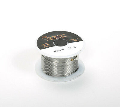 Cardas Quad Eutectic Silver Solder with Rosin Flux - Ultra Pure Soldering Wire