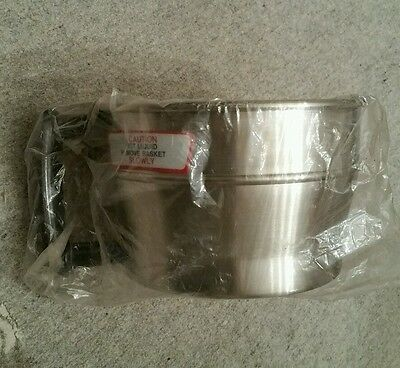 """Wilbur Curtis WC 3313 stainless steel grounds BREW BASKET 6.7"""" commercial coffee"""