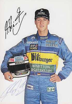 SCHUMACHER - Michael Schumacher - original signiert - signed - 11a