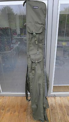 Fox Royale 12ft 3 Rod bag Holdall .. Mint condition .. Used carp tackle .