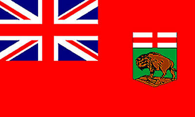 MANITOBA FLAG 5' x 3' Canada Canadian Province Flags