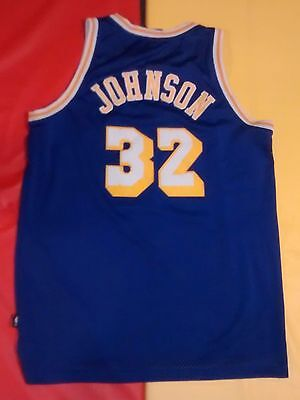 low priced 6687d 73990 VINTAGE LOS ANGELES Lakers Magic Johnson #32 Hardwood ...